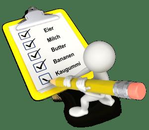 Checklisten Vorteile