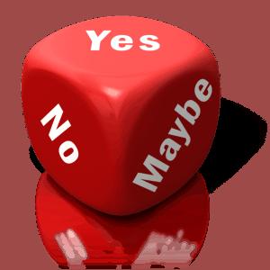 nein sagen, ohne Schuldgefühl
