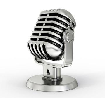 podcast, mikrofon