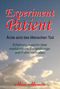 Buchcover-Experiment Patient