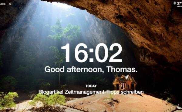 Zeitmanagement-Tipps, Momentum